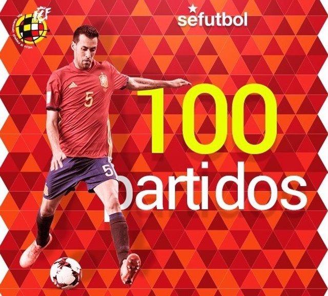 Sergio Busquets selección española España
