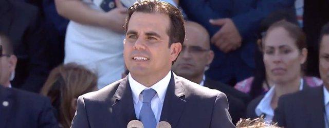El nuevo gobernador de Puerto Rico, Ricardo Roselló