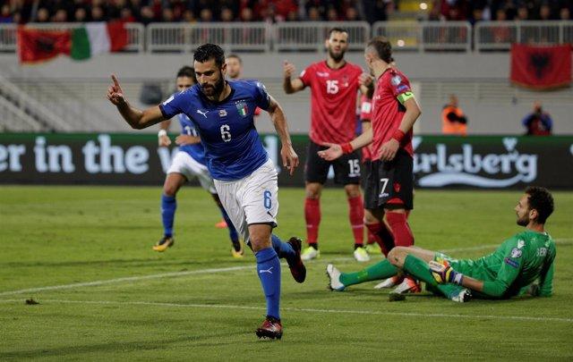 Albania Italia Antonio Candreva