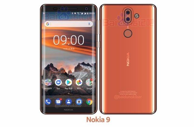 Pantalla Nokia 9 HMD