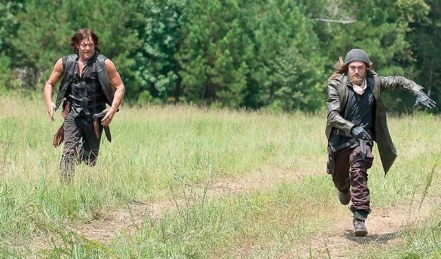Daryl y Jesus en The Walkig Dead