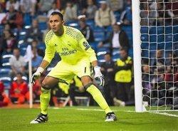 Keylor Navas torna lesionat i serà baixa davant el Getafe (Europa Press)