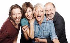 'Los vecinos de arriba' de Cesc Gay torna a Barcelona amb Eva Hache i Josep Julien (TEATRE CONDAL)