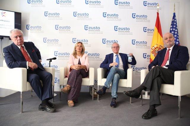 Fòrum de l'Herència Hispana amb Josep Piqué i Trinidad Jiménez