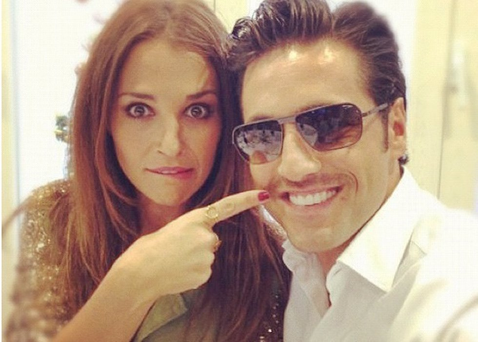Twitter: Paula Echevarria y Bustamante ¿de la reconciliación al divorcio?