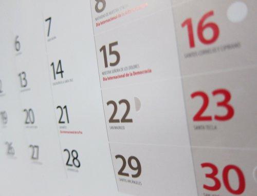 Aprobado el calendario de días festivos para el 2020 en las Illes Balears