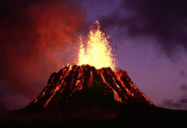 Erupción volcánica