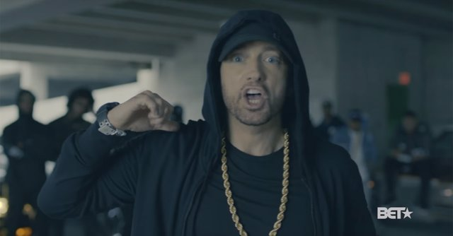 Eminem contra Trump