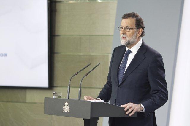 Roda de premsa de Mariano Rajoy