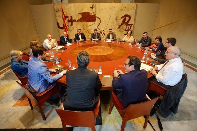 Reunió extraordinària del Consell Executiu de la Generalitat