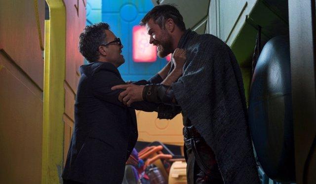 Mark Ruffalo en 'Thor: Ragnarok'