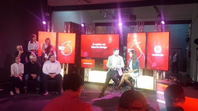 Presentación de Esports Garage de Vodafone