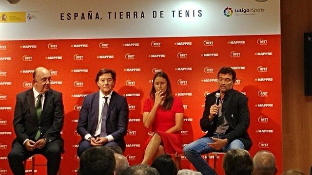 Nuevos capitantes de Copa Davis y Copa Federación
