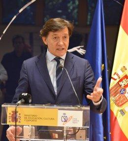 José Ramón Lete, secretario de estado para el deporte