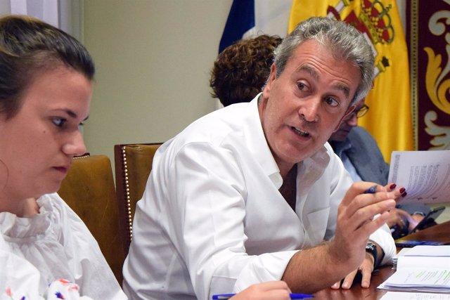 Óscar García, en comisión