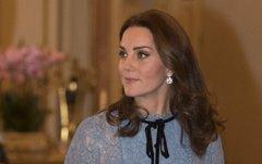 Kate Middleton y su barriguita en el tercer mes de embarazo