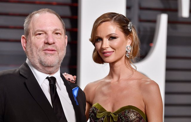 Harvey weinstein y su mujer