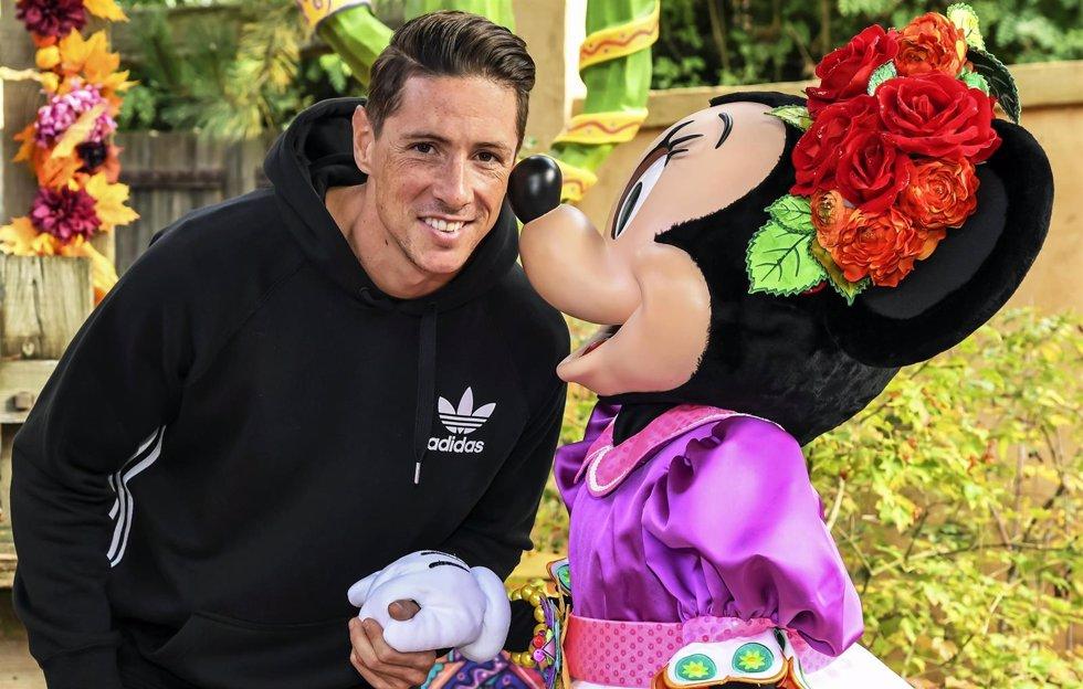 Fernando Torres en Disney