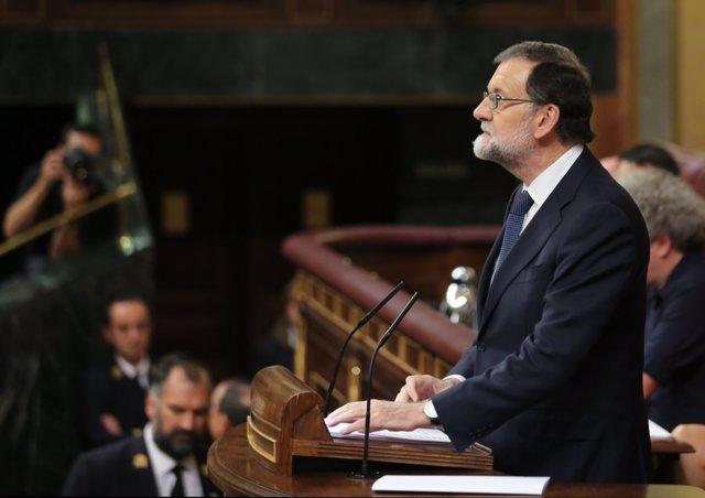 Mariano Rajoy al Congrés