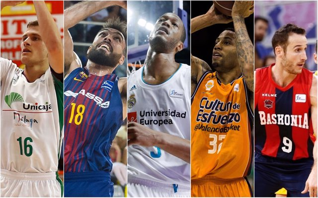 Cinco equipos españoles participan en la Euroliga