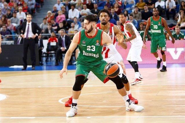 Shengelia Baskonia contra Olympiacos