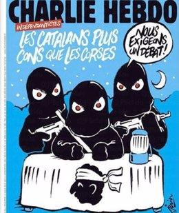 Portada de Charlie Hebdo sobre la crisis en Cataluña