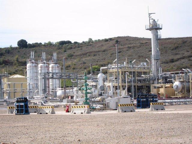 Planta de Gas Viura en Sotés