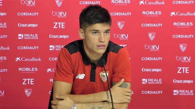 Joaquín Correa, jugador del Sevilla FC