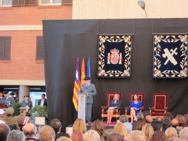 Jaume Barceló durante la Festividad del Pilar