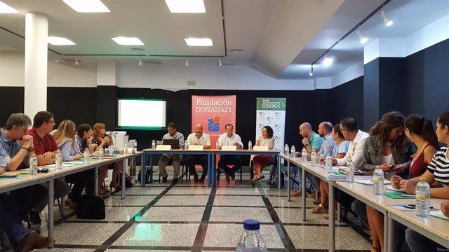 Reunión para la marca Doñana.