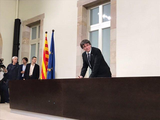 El pte.C.Puigdemont