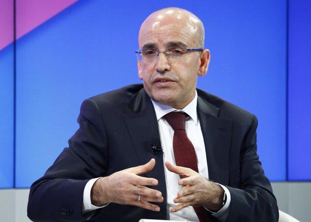 El viceprimer ministro de Turquía, Mehmet Simsek.