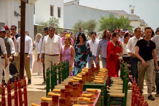 Almonte valora la promoción turística de El Rocío con MasterChef
