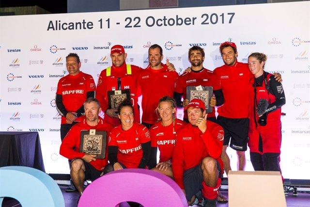 El MAPFRE llega a Alicante para empezar la Volvo Ocean Race