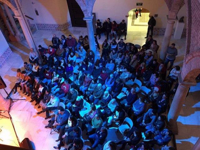 Asistentes a actuaciones del programa Noches de Palacio de la Diputación de Jaén
