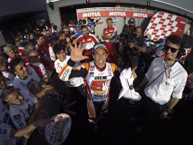 Marc Márquez campeón MotoGP Japón Motegi