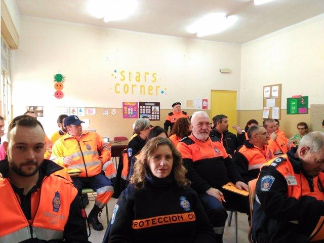 León. Curso de formación de Protección Civil