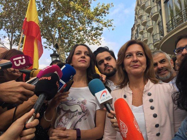I.Arrimadas,F.Páramo,C.Mejías,C.Carrisosa,J.M.Espejo Saavedra (Cs)