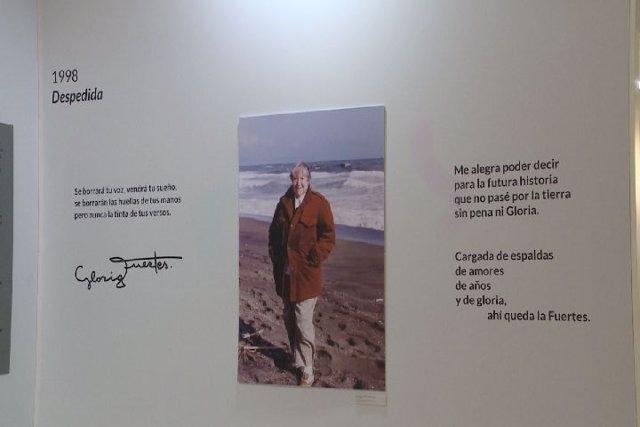 Una exposición en Bilbao recuerda a la poetisa Gloria Fuertes
