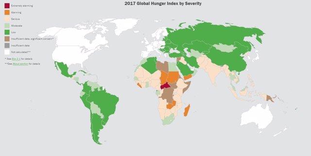 Índice Global del Hambre 2017