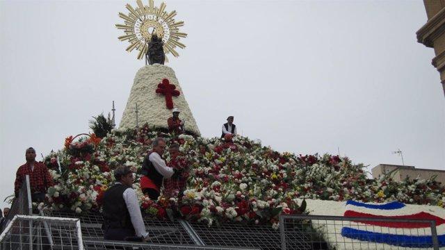 Ofrenda de Flores a la Virgen del Pilar 2017