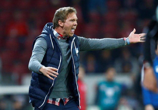 Julian Nagelsmann, entrenador del Hoffenheim