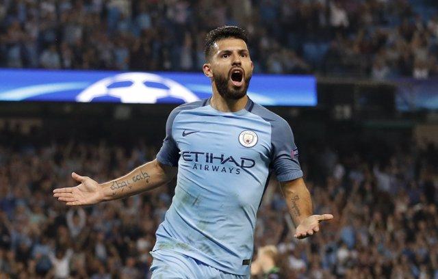 'Kun' Agüero, Delantero Del Manchester City