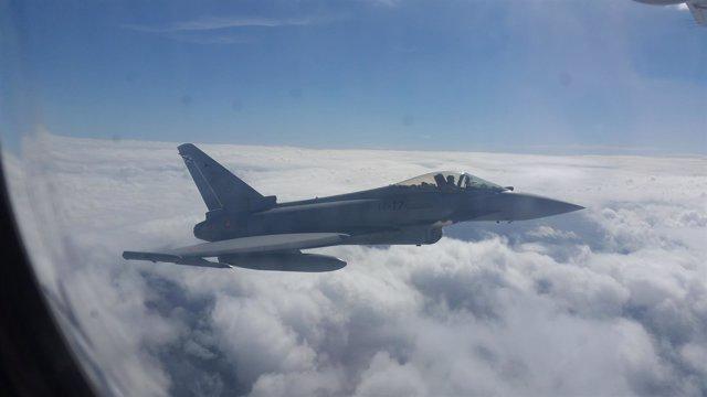 Avión de combate Eurofighter