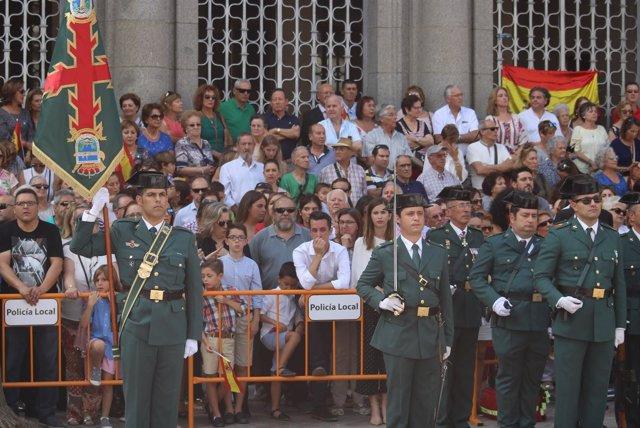 Cientos de onubenses arropan en Huelva a la Guardia Civil en la celebración  del día de su patrona ed5742142de