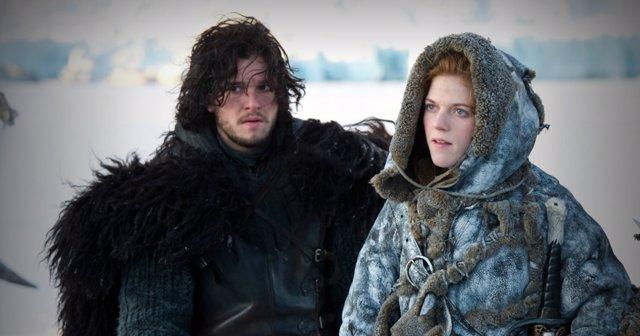 Juego de tronos: Ygritte y Jon Nieve