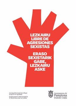 Campaña contra las agresiones sexistas en fiestas de Lezkairu