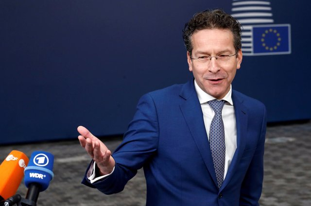 FILE PHOTO: Dutch Finance Minister and Eurogroup President Jeroen Dijsselbloem t