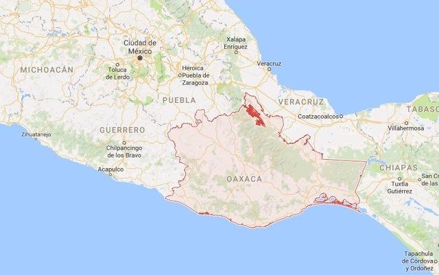 Sismo Oaxaca México