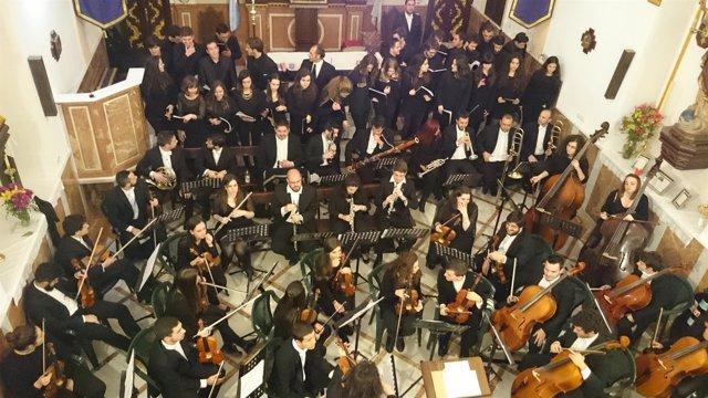 Cocierto de los alumnos del Conservatorio Superior de Música de Málaga.